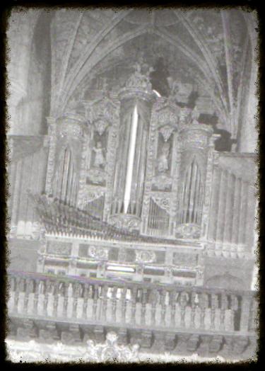 Órgano Convento Santo Domingo, Pamplona